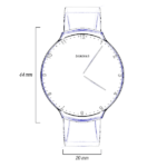 Touch Skin Watch - Technical details top